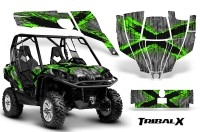 Can-Am-Commander-CreatorX-Graphics-Kit-TribalX-Green-Silver-BB