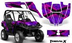 Can Am Commander CreatorX Graphics Kit TribalX Pink Purple BB 150x90 - Can-Am BRP Commander 800-1000 Graphics