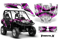 Can-Am-Commander-CreatorX-Graphics-Kit-TribalX-Pink-White-BB
