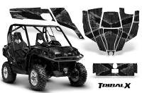 Can-Am-Commander-CreatorX-Graphics-Kit-TribalX-Silver-Black