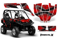 Can-Am-Commander-CreatorX-Graphics-Kit-TribalX-Silver-Red