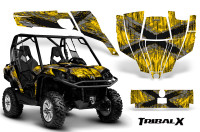 Can-Am-Commander-CreatorX-Graphics-Kit-TribalX-Silver-Yellow