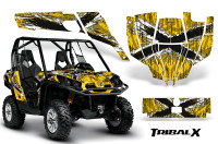 Can-Am-Commander-CreatorX-Graphics-Kit-TribalX-White-Yellow