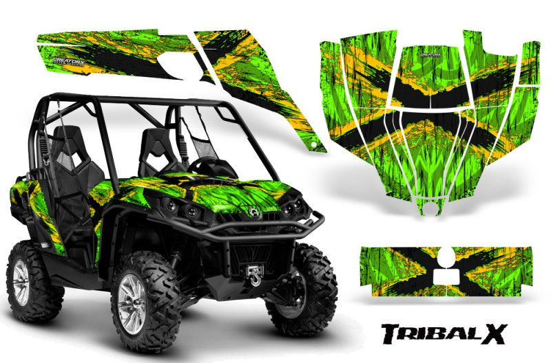 Can-Am-Commander-CreatorX-Graphics-Kit-TribalX-Yellow-Green-BB