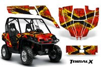 Can-Am-Commander-CreatorX-Graphics-Kit-TribalX-Yellow-Red-RB