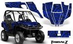 Can Am Commander CreatorX Graphics Kit TribalZ Blue 150x90 - Can-Am BRP Commander 800-1000 Graphics