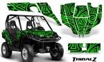 Can Am Commander CreatorX Graphics Kit TribalZ Green 150x90 - Can-Am BRP Commander 800-1000 Graphics