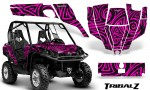 Can Am Commander CreatorX Graphics Kit TribalZ Pink 150x90 - Can-Am BRP Commander 800-1000 Graphics