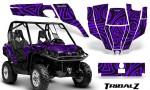 Can Am Commander CreatorX Graphics Kit TribalZ Purple 150x90 - Can-Am BRP Commander 800-1000 Graphics