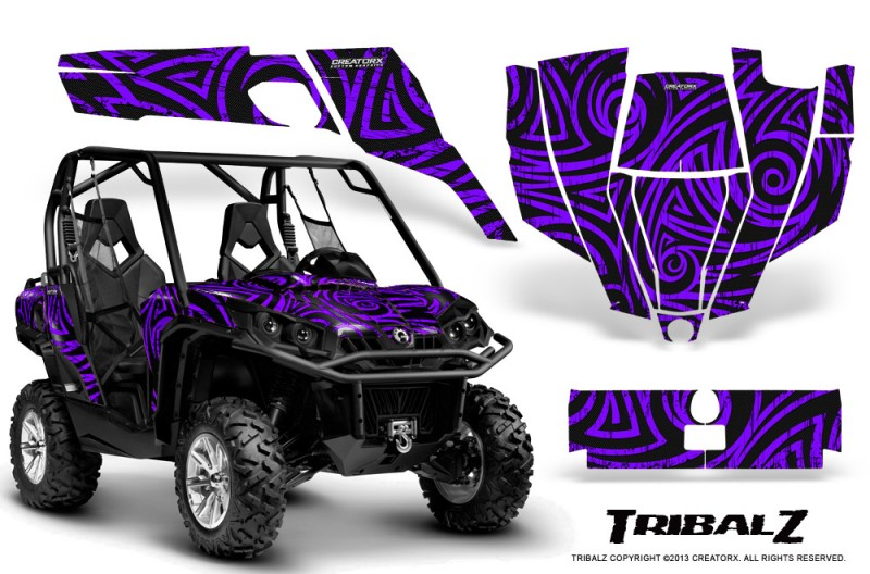 Can-Am-Commander-CreatorX-Graphics-Kit-TribalZ-Purple