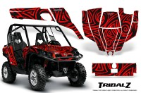 Can-Am-Commander-CreatorX-Graphics-Kit-TribalZ-Red