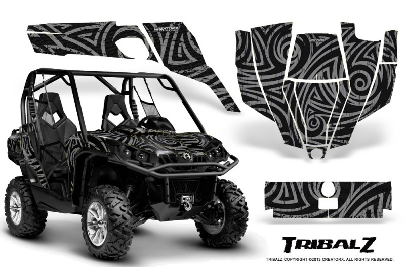 Can-Am-Commander-CreatorX-Graphics-Kit-TribalZ-Silver
