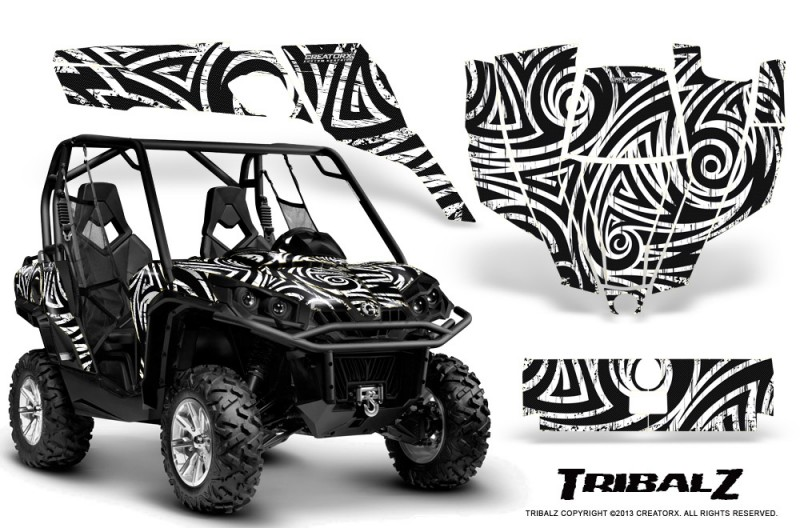 Can-Am-Commander-CreatorX-Graphics-Kit-TribalZ-White