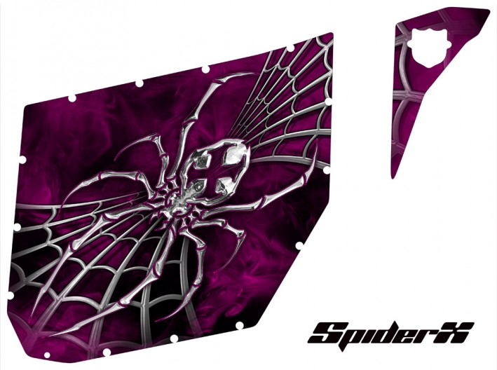 Can-Am-Commander-Pro-Armor-CreatorX-Graphics-SpiderX-Pink