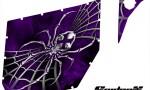 Can Am Commander Pro Armor CreatorX Graphics SpiderX Purple 150x90 - Can-Am Commander CREATORX Graphics for Pro Armor Doors