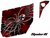 Can-Am-Commander-Pro-Armor-CreatorX-Graphics-SpiderX-Red