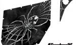 Can Am Commander Pro Armor CreatorX Graphics SpiderX Silver 150x90 - Can-Am Commander CREATORX Graphics for Pro Armor Doors