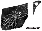 Can-Am-Commander-Pro-Armor-CreatorX-Graphics-SpiderX-Silver