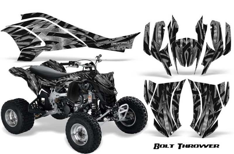 Can-Am-DS450-CreatorX-Graphics-Kit-Bolt-Thrower-Silver