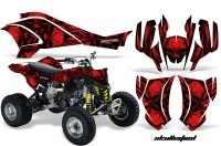 Can-Am-DS450-CreatorX-Graphics-Kit-Skullcified-Red-Flat-Black