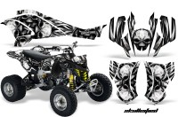 Can-Am-DS450-CreatorX-Graphics-Kit-Skullcified-Silver-Black