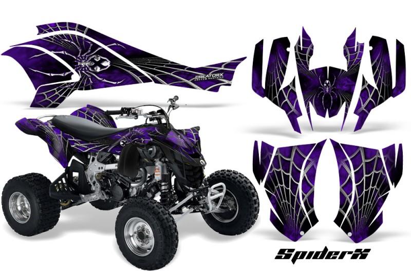 Can-Am-DS450-CreatorX-Graphics-Kit-SpiderX-Purple