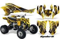 Can-Am-DS450-CreatorX-Graphics-Kit-SpiderX-Yellow