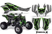 Can-Am-DS450-CreatorX-Graphics-Kit-TribalX-Green-Silver