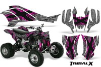 Can-Am-DS450-CreatorX-Graphics-Kit-TribalX-Pink-Silver