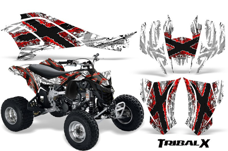 Can-Am-DS450-CreatorX-Graphics-Kit-TribalX-Red-White-BB