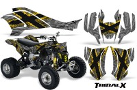 Can-Am-DS450-CreatorX-Graphics-Kit-TribalX-Yellow-Silver