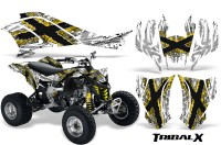 Can-Am-DS450-CreatorX-Graphics-Kit-TribalX-Yellow-White-BB
