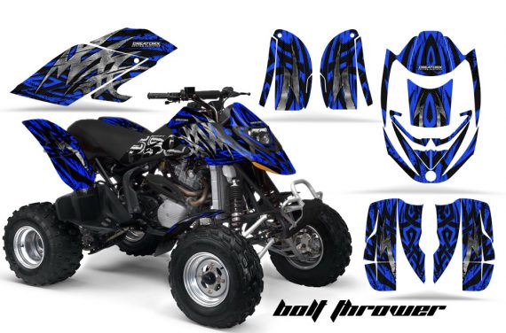 Can Am DS650 CreatorX Graphics Kit Bolt Thrower Blue 570x376 - Can-Am DS650 Graphics