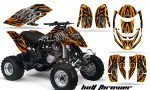 Can Am DS650 CreatorX Graphics Kit Bolt Thrower Orange 150x90 - Can-Am DS650 Graphics
