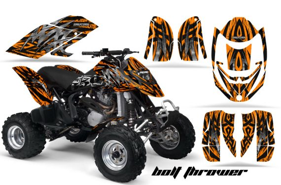 Can Am DS650 CreatorX Graphics Kit Bolt Thrower Orange 570x376 - Can-Am DS650 Graphics