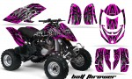 Can Am DS650 CreatorX Graphics Kit Bolt Thrower Pink 150x90 - Can-Am DS650 Graphics