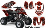 Can Am DS650 CreatorX Graphics Kit Bolt Thrower Red BB 150x90 - Can-Am DS650 Graphics