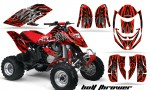 Can Am DS650 CreatorX Graphics Kit Bolt Thrower Red RB 150x90 - Can-Am DS650 Graphics