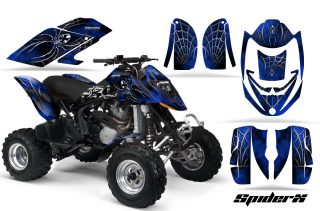 Can Am DS650 CreatorX Graphics Kit SpiderX Blue 320x211 - Can-Am Maverick X3 TribalX Custom Version Graphics