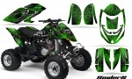 Can Am DS650 CreatorX Graphics Kit SpiderX Green 150x90 - Can-Am DS650 Graphics