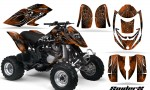 Can Am DS650 CreatorX Graphics Kit SpiderX Orange Dark 150x90 - Can-Am DS650 Graphics