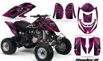 Can Am DS650 CreatorX Graphics Kit SpiderX Pink 150x90 - Can-Am DS650 Graphics
