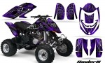 Can Am DS650 CreatorX Graphics Kit SpiderX Purple 150x90 - Can-Am DS650 Graphics