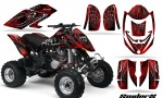 Can Am DS650 CreatorX Graphics Kit SpiderX Red BB 150x90 - Can-Am DS650 Graphics