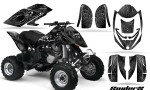 Can Am DS650 CreatorX Graphics Kit SpiderX Silver 150x90 - Can-Am DS650 Graphics
