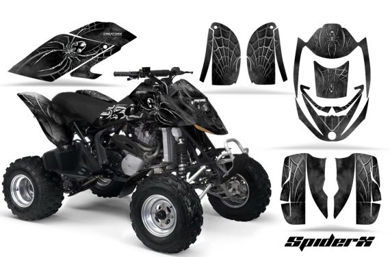 Can Am DS650 CreatorX Graphics Kit SpiderX Silver 570x376 - Can-Am DS650 Graphics