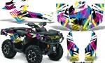 Can Am Outlander 1000 2012 AMR Graphics Kit Flashback1 150x90 - Can-Am Outlander 500-650-800-1000 XMR-MAX XT XT-P DPS SST G2 2013-2021 Graphics
