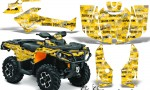 Can Am Outlander 1000 2012 AMR Graphics Kit KY SSH1 150x90 - Can-Am Outlander 500-650-800-1000 XMR-MAX XT XT-P DPS SST G2 2013-2021 Graphics