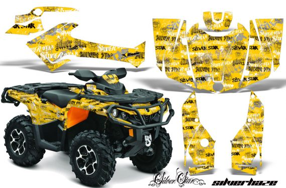 Can Am Outlander 1000 2012 AMR Graphics Kit KY SSH1 570x376 - Can-Am Outlander 500-650-800-1000 XMR-MAX XT XT-P DPS SST G2 2013-2021 Graphics