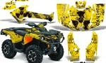 Can Am Outlander 1000 2012 AMR Graphics Kit MELTDOWN RY1 150x90 - Can-Am Outlander 500-650-800-1000 XMR-MAX XT XT-P DPS SST G2 2013-2021 Graphics